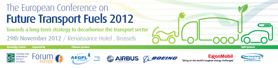 The European Conference on Future Transport Fuels 2012