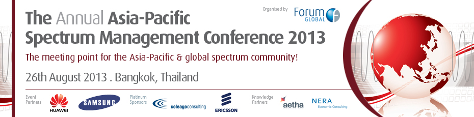 The Annual Asia-Pacific Spectrum Management Conference 2013
