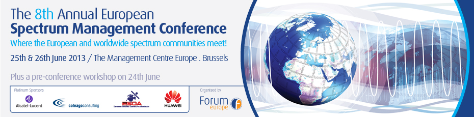 The 8th Annual European Spectrum Management Conference
