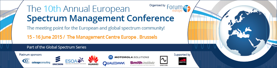 The 10th Annual European Spectrum Management Conference