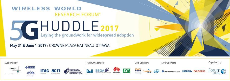 5G Huddle 2017 | Speaker Biographies