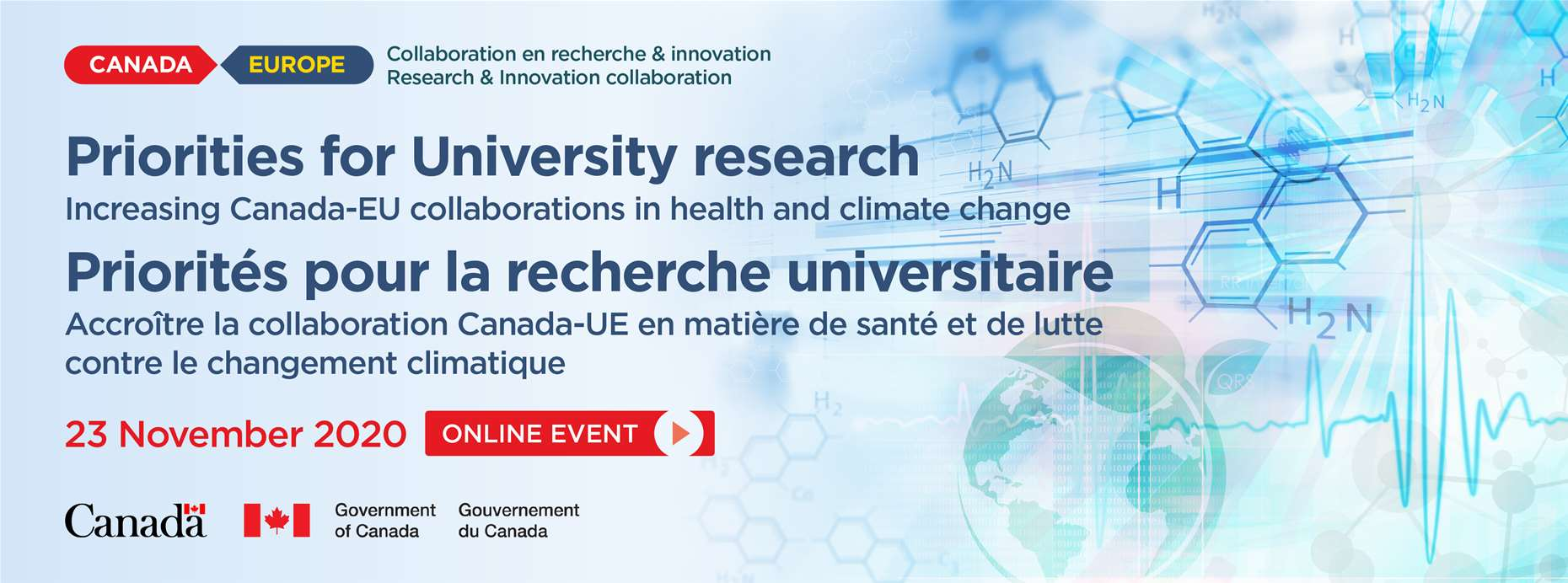 The Canada-Europe Collaboration on Research and Innovation