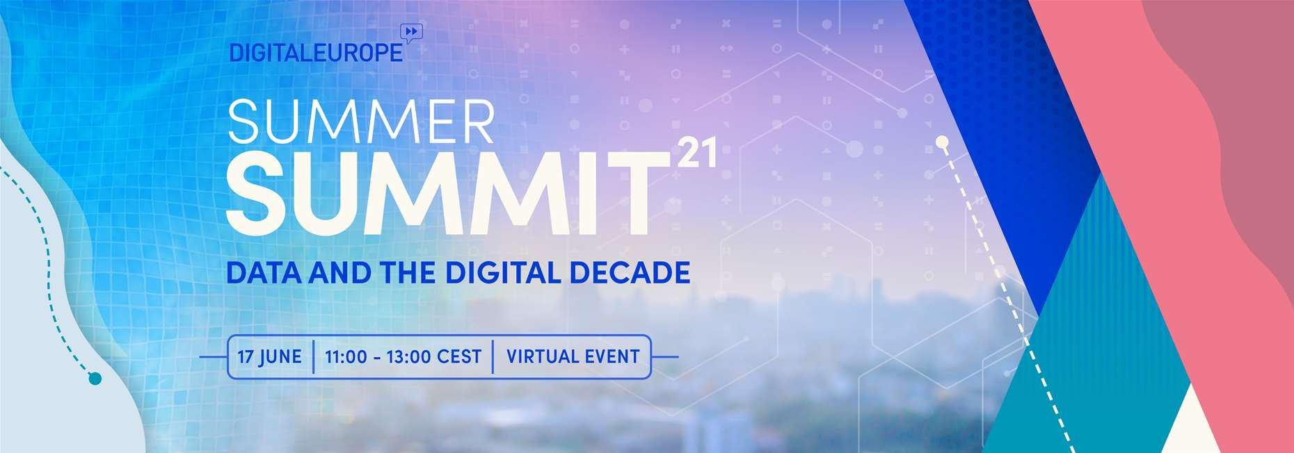 Summer Summit 2021 The Digital Decade: Europe's future prospects in a digital world - 17 June 2021