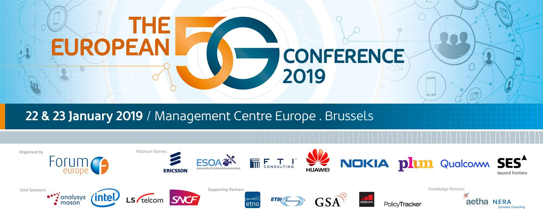 The European 5G Conference 2019 | Speaker Biographies