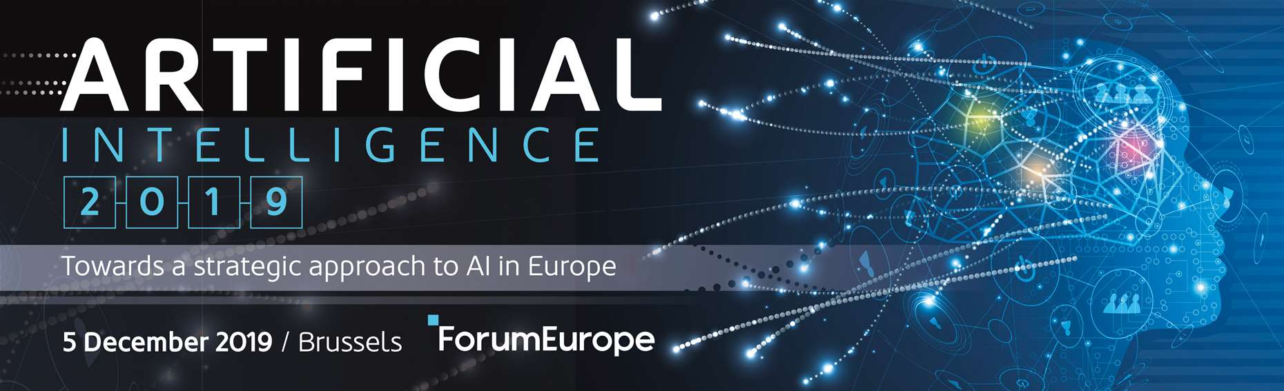 Forum Europe Artificial Intelligence 2019