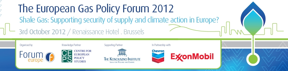 The European Gas Policy Forum 2012
