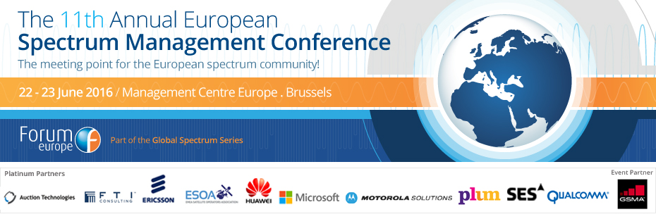 The 11th Annual European Spectrum Management Conference