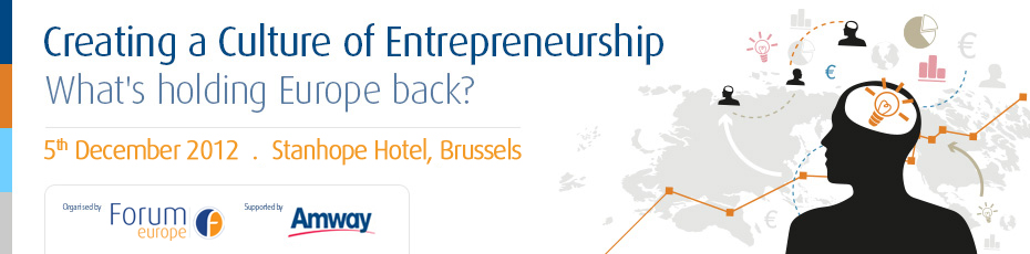 Creating a Culture of Entrepreneurship – what's holding Europe back?
