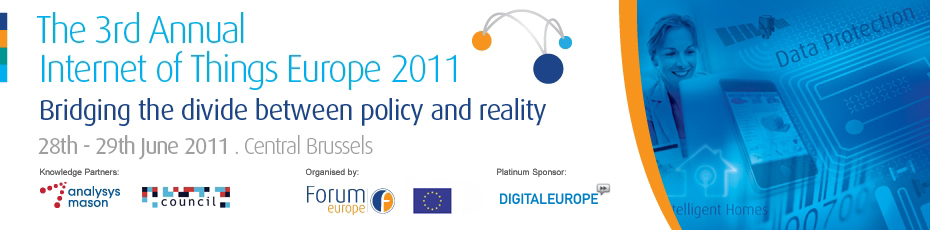 The 3rd Annual Internet of Things Europe Conference 2011