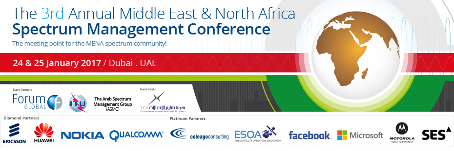 The 3rd Annual Middle East and North Africa Spectrum