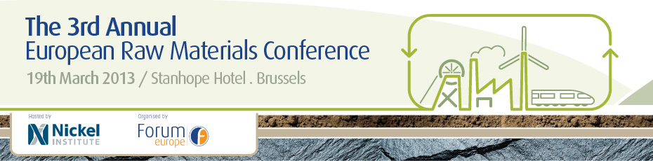 The 3rd Annual European Raw Materials Conference
