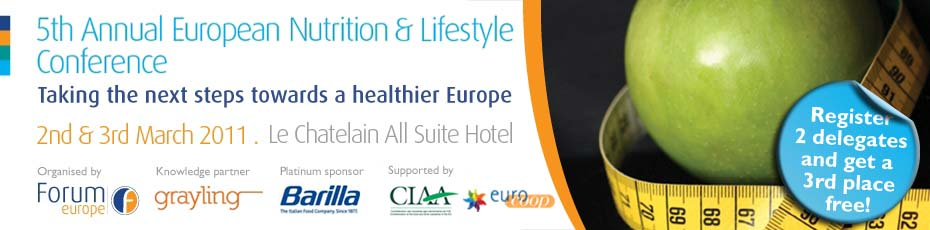 The 5th Annual European Nutrition & Lifestyle Conference
