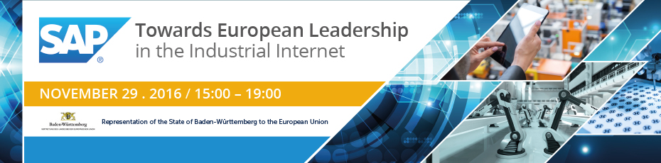 SAP Industrial Internet Conference with Forum Europe