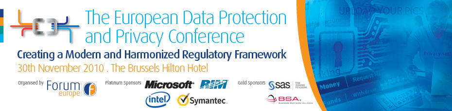 The European Data Protection and Privacy Conference 2010