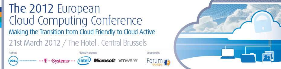 The 2012 European Cloud Computing Conference,