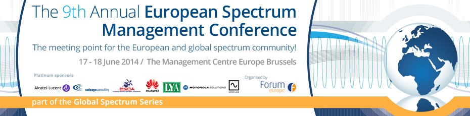 The 9th Annual European Spectrum Management Conference