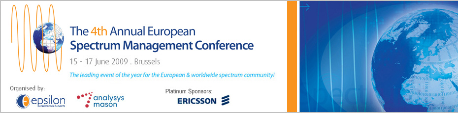 The 4th Annual European Spectrum Management Conference
