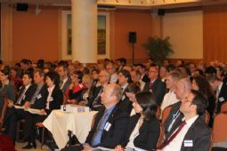 Delegates listening to the panel discussion