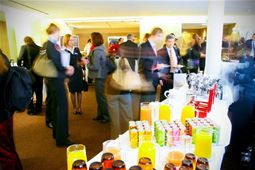 Take advantage of one of the numerous networking opportunities