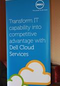 Dell was exhibiting at the conference