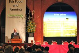 Part of Philip Lymbery's presentation of 'A vision for the future of farming'