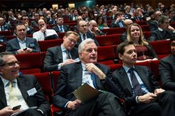 Participants at the 2014 European Financial  Services Conferencec